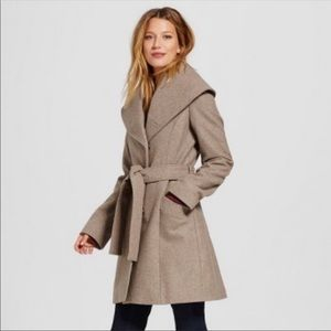 NWT a•new •day by target shawl coat large taupe